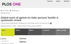 Ageism & Societal Response to Population Ageing - Ageing Women
