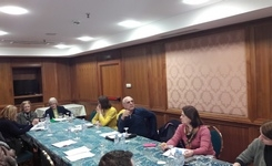 Organization of second working meeting for revision of court monitoring questionnaires