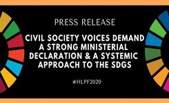 Civil Society Voices Demand a Strong Ministerial Declaration & a Systemic Approach to the SDG's - Gender