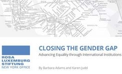 Closing the Gender Gap - Advancing Equality through International Institutions