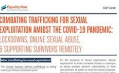 Combating Trafficking for Sexual Exploitation Amidst the COVID-19 Pandemic