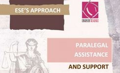 ESE's Approach - Paralegal assistance and support