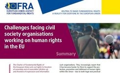 EU - Challenges Facing Civil Society Organisations Working on Human Rights in the EU - Women's Programs