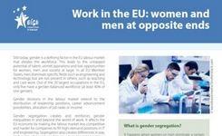 Europe - Work in the EU: Women & Men at Opposite Ends - EIGE