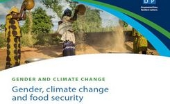Gender, Climate Change & Food Security