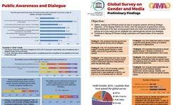 Global Survey on Gender & Media - Preliminary Findings - UNESCO-GAMAG