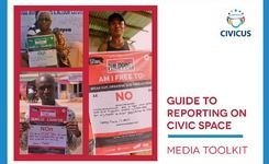 Guide to Reporting on Civic Space - Media Toolkit - Gender
