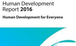 Human Development Report 2016 - UNDP - Gender