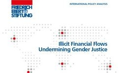 Illicit Financial Flows Undermining Gender Justice