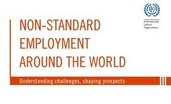 Non-Standard Employment as Temporary Work, Part-Time Work - Women High % - Challenges for Benefits, Security + Overall Risks