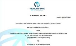 Project appraisal document on a proposed International Bank for Reconstruction and Development loan in the amount of EUR 90.00 million