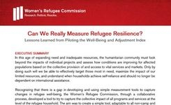 Refugee Well-Being & Adjustment Index Measurement Tool - Indicator of Impacts of Humanitarian Services