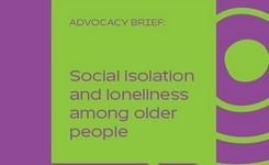 Social Isolation & Loneliness Among Older People - Older Women