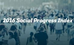 Social Progress Indexes - Social Progress Dimensions on Basic Human Needs, Well-Being, Opportunity