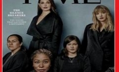 "Time Magazine Cover Honors ""The Silence Breakers"" as Person(s) of the Year"