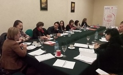 USAID's Women's Legal Protection Project - Working meeting for strategic litigation