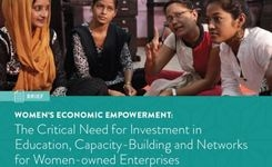 Women-Owned Enterprises: Critical Need for Investment in Education, Capacity-Building & Networks