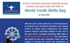 World Youth Day - July 15 - Celebrate Young Women's & Girls' Skills