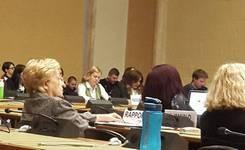 Соопштениe за медиуми - Граѓанскиот сектор пред Комитетот на Обединети нации задолжен за следење на имплементацијата на Конвенцијата на Елиминација за сите форми на дискриминација кон жените