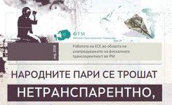 Работата на ЕСЕ во областа на унапредувањето на фискалната транспарентност во РМ, мај 2018