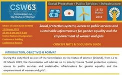 CSW 63 Primary Theme Concept Note & Reference Guide