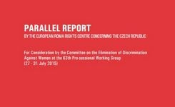 Czech Republic - Parallel CEDAW Report on Coercive Sterilization of Romani Women + CEDAW Committee Pre-Session Process