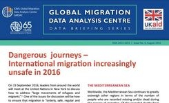 """Dangerous Journeys""- International Migration Increasingly Unsafe in 2016 – Women & Girls"