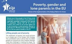Europe - Poverty, Gender & Lone Parents in the EU