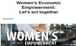 European Union - Women's Economic Empowerment