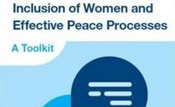 Inclusion of women and effective peace processes