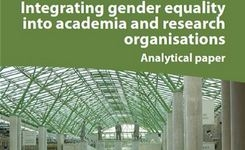 Integrating Gender Equality into Academia & Research Organisations - EU Focus