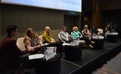 """Национална конференција """"Кои мерки и активности треба да ги преземаат владините институции за надминување на пречките со кои се соочуваат граѓаните во пристапот до активните мерки, програми и услуги за вработување"""""""