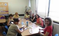 """Посета на локални граѓански организации во рамки на ЕУ проектот  """"Социјална отчетност за родова еднаквост"""" – Тетово и Теарце"""