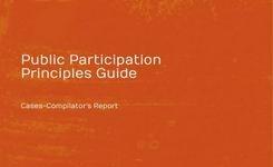 Public participation Principles Guide