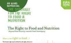 The Right to Food & Nutrition - Beyond Food Security, Towards Food Sovereignty