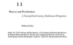 Slavery & Prostitution: A Twenty-First-Century Abolitionist Perspective