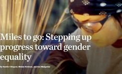 Stepping Up Progress for Gender Equality: Miles to Go