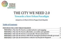 The City We Need 2.0: Towards a New Urban Paradigm - Cities for WOMEN