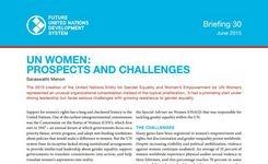 UN Women: Prospects & Challenges