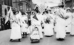 USA - Women's Equality Day - Anniversary of National Women's Suffrage - August 26