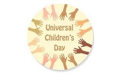 Universal Children's Day - November 20 + EU Consideration of Wellbeing of Children in Europe - Girls