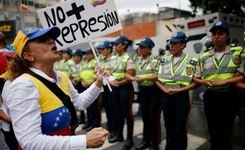 Venezuela - Women March in Caracas Against Government Repression