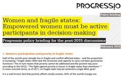 Women & Fragile States: Empowered Women Must Be Active Participants in Decision-Making