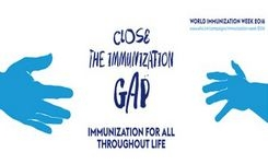 World Immunization Week 2016: Close the immunization gap