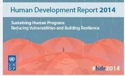 Human Development Report 2014 - Statistics - Gender Inequality Index +