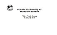 IMFC Statement by Jeroen Dijsselbloem Minister of Finance Kingdom of the Netherlands—Netherlands