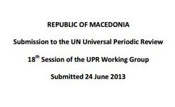 Joint Submission on health to the UN Universal Periodic Review