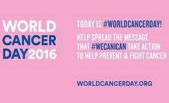 Информација за медиуми по повод Светскиот ден за борба против карциномот, 04 февруари 2016 година
