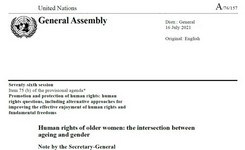 Human Rights of Older Women: The Intersection Between Ageing & Gender