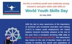 World Youth Day - July 15 - Celebrate Young Women's & Girls' Skills